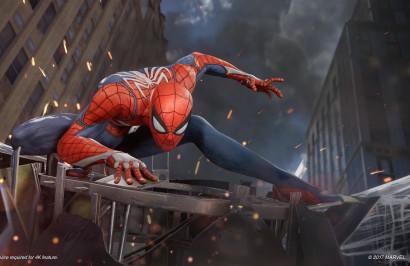 Студия Insomniac Games дразнит всех тестированием игры Spider-Man на PS4