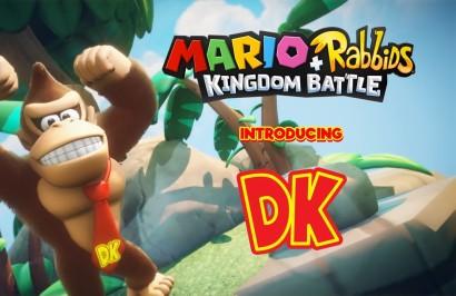 Mario + Rabbids Donkey Kong DLC - дебют Rabbid Cranky