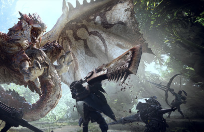 Monster Hunter World обогнал PUBG по популярности в магазине Xbox Store