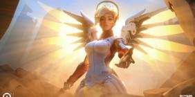 Ангел из Overwatch ослаблен опять на последнем PTR