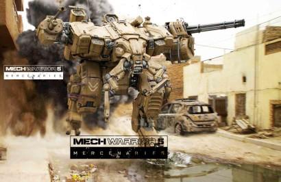 Новый трейлер MechWarrior 5: Mercenaries показывает повышенную