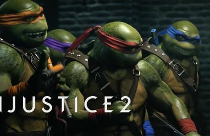 Черепашки ниндзя доступны в Injustice 2, начиная с сегодняшнего дня