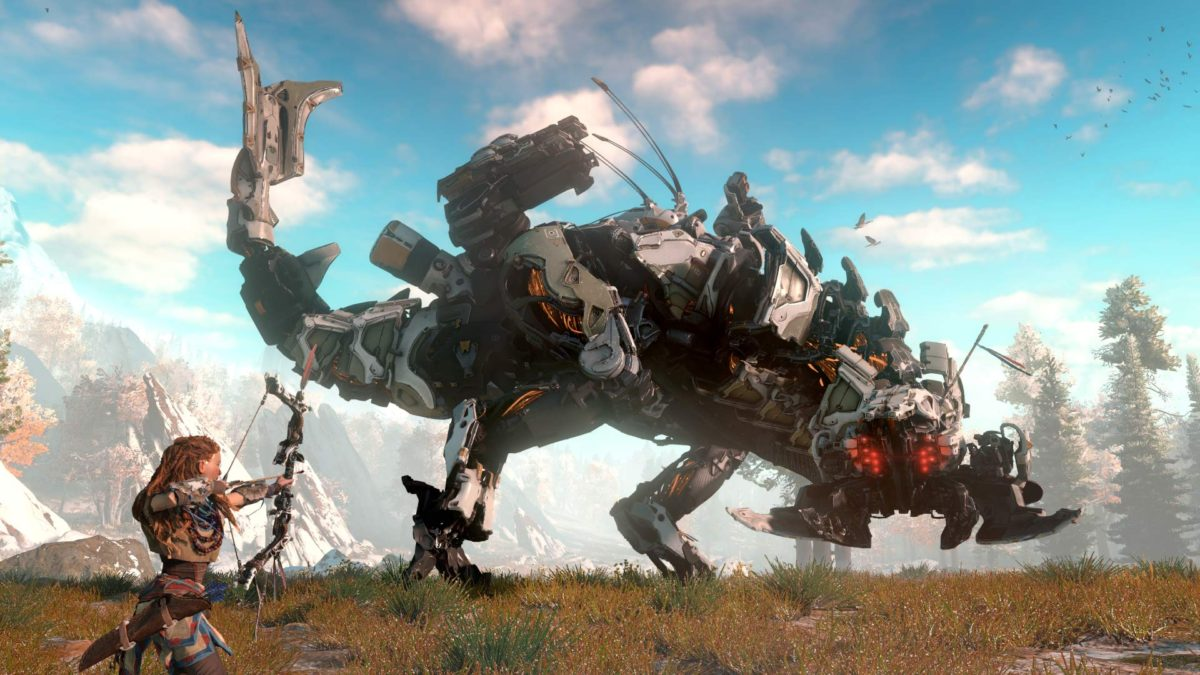 Ранняя версия Horizon: Zero Dawn имела работающий кооперативный режим, но меньше разнообразия в игре
